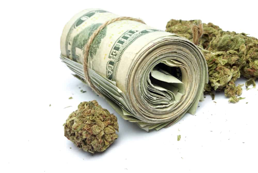 How much does a weed cost in india